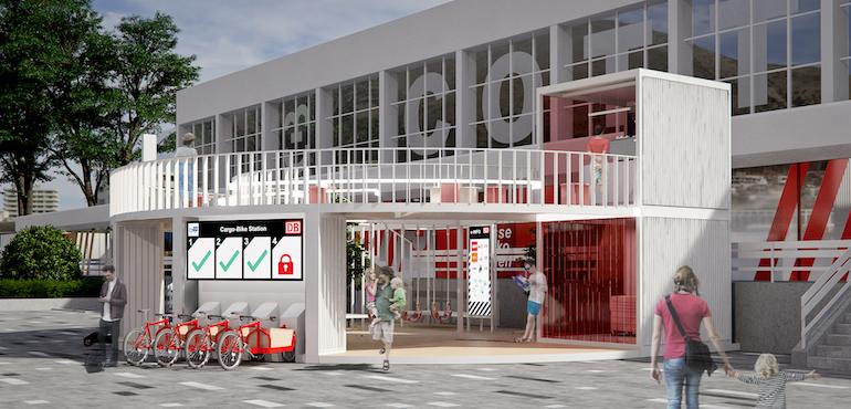 Bahnhof der Zukunft
